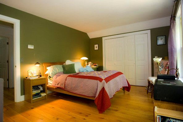 Sage Green Bedroom Walls Photo
