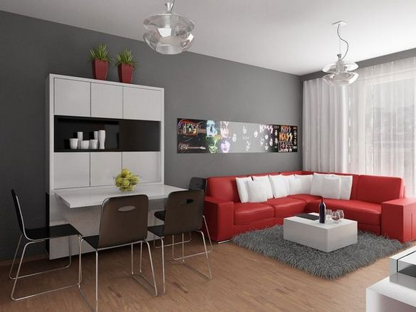 Small Flat Interior Design Ideas