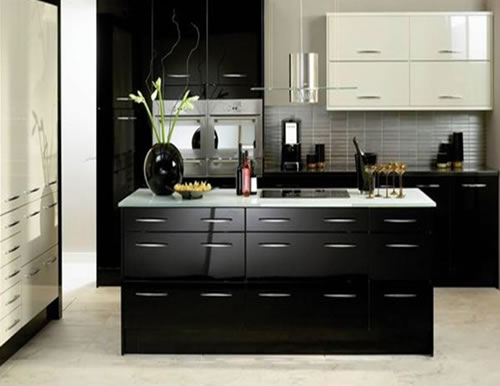 Modern Kitchen Small modern kitchen design ideas 2012