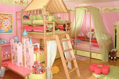 Unique Toddler Girl Rooms