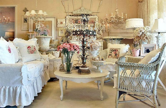 Vintage French Shabby Chic Decor