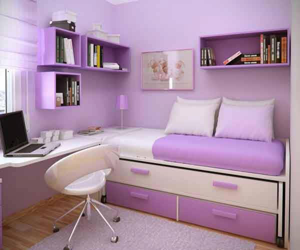 Violet Bedroom Designs