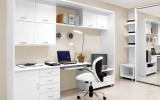 <b>White Home Office Decorating Ideas for Clean Mind</b>