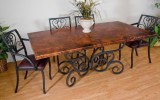<b>Dining Table Wooden -- Pure, with Glass, or Iron?</b>