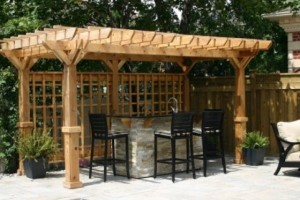 Back Yard Bar Ideas
