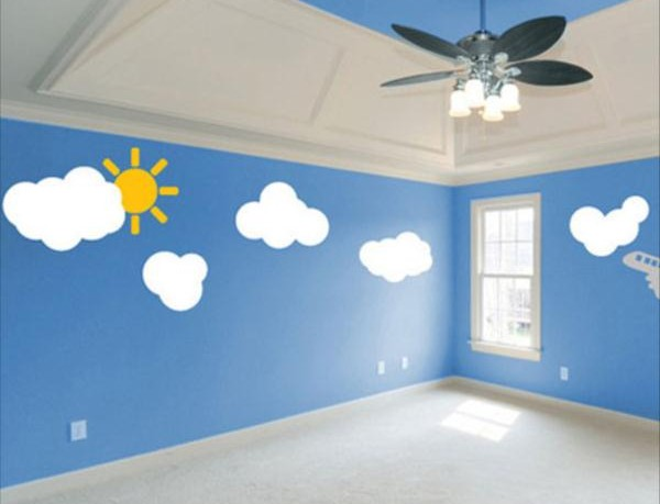 Bedroom Designs with Blue Walls