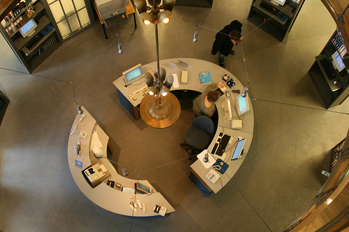 Circle Desk Design Pic