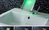 <b>Modern Bathroom Sink, Cabinet, and Faucet</b>