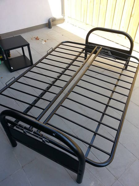 Homemade Queen Bed Frame