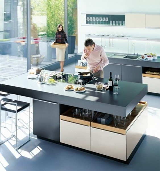 Luxury Contemporary Kitchens