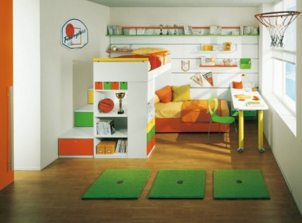 Playground Bedroom Design Pic