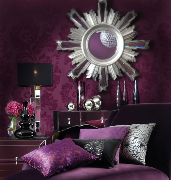 Ideas For Purple Bedroom Part - 39: Purple Bedroom Ideas For Men