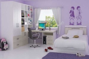 Purple Color Bedroom Designs