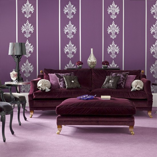 Purple Color Room Designs