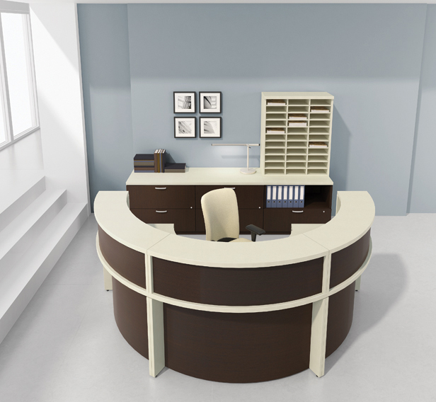 Semi Circle Desk Design