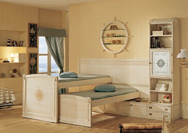 Teenage Girls Bedrooms with High Bed Photo