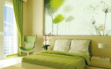 <b>Bright Green Bedrooms Color Schemes for Kids</b>