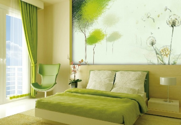Green Bedroom Color Schemes bright green bedrooms color schemes for kids