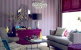 <b>Purple in Ideas for Bedroom, Office, and Living</b>